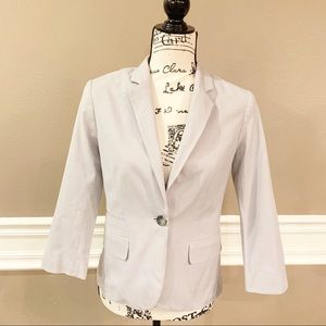 Banana Republic Quarter Sleeve Blazer, Size 6, EUC